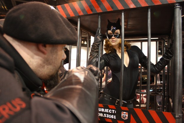 Cosplay - Umbrella Corporation Denver traps catwoman